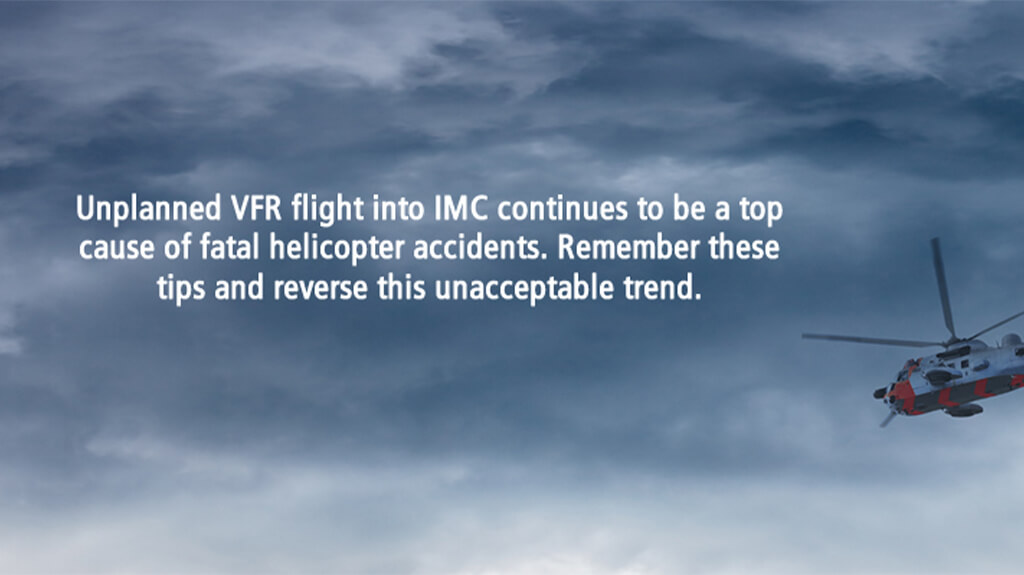 Unplanned VFR Flight into IMC