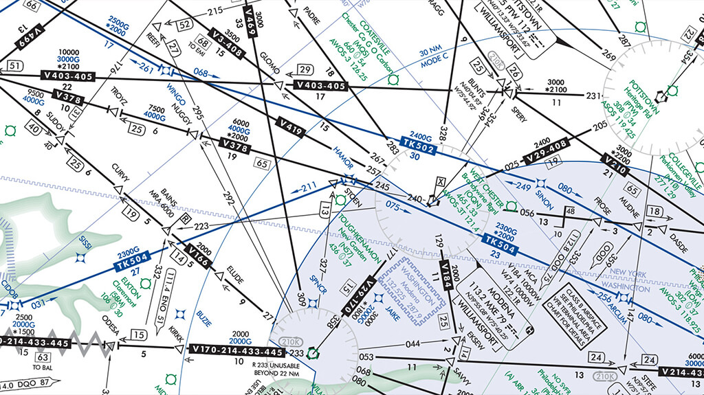File IFR and Fly TK Routes