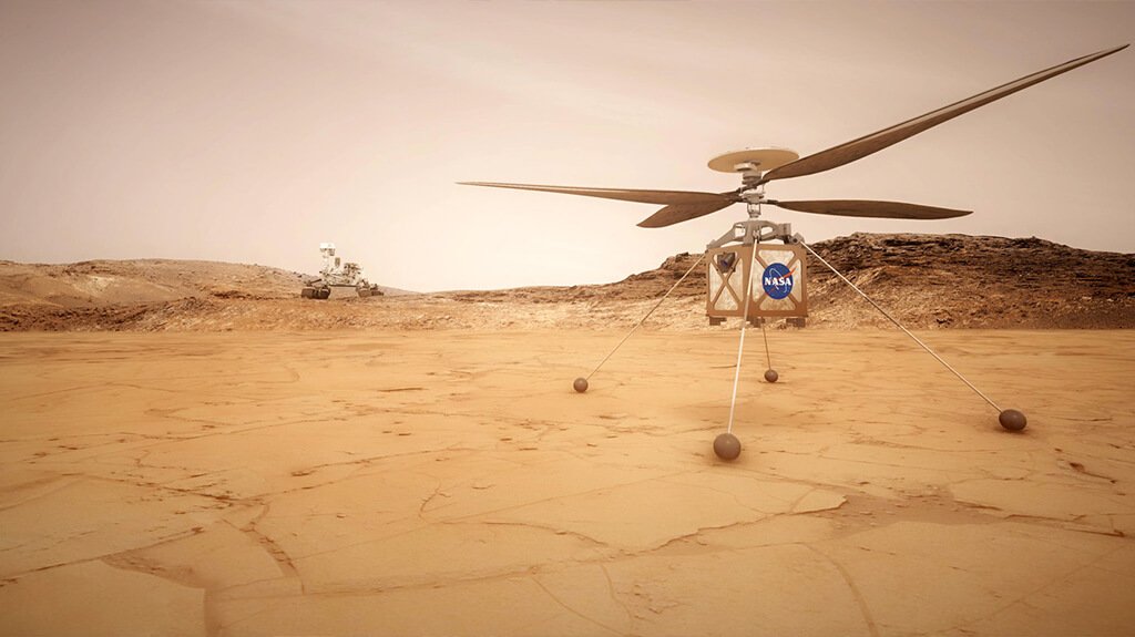 Ingenuity's rotor blade designers on how to fly a helicopter on Mars