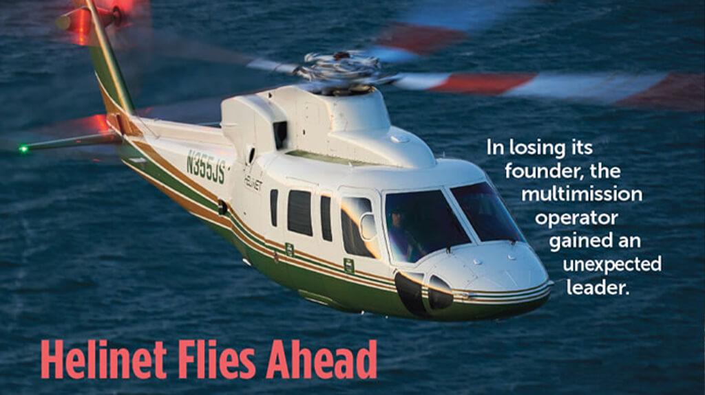 Helinet Flies Ahead