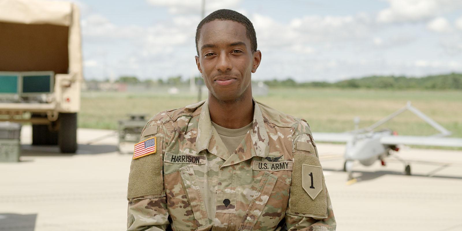 Sgt. Javaughn Harrison, UAS Operator, US Army